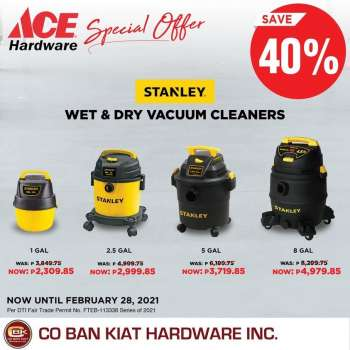 ACE Hardware offer  - 20.2.2021 - 28.2.2021.