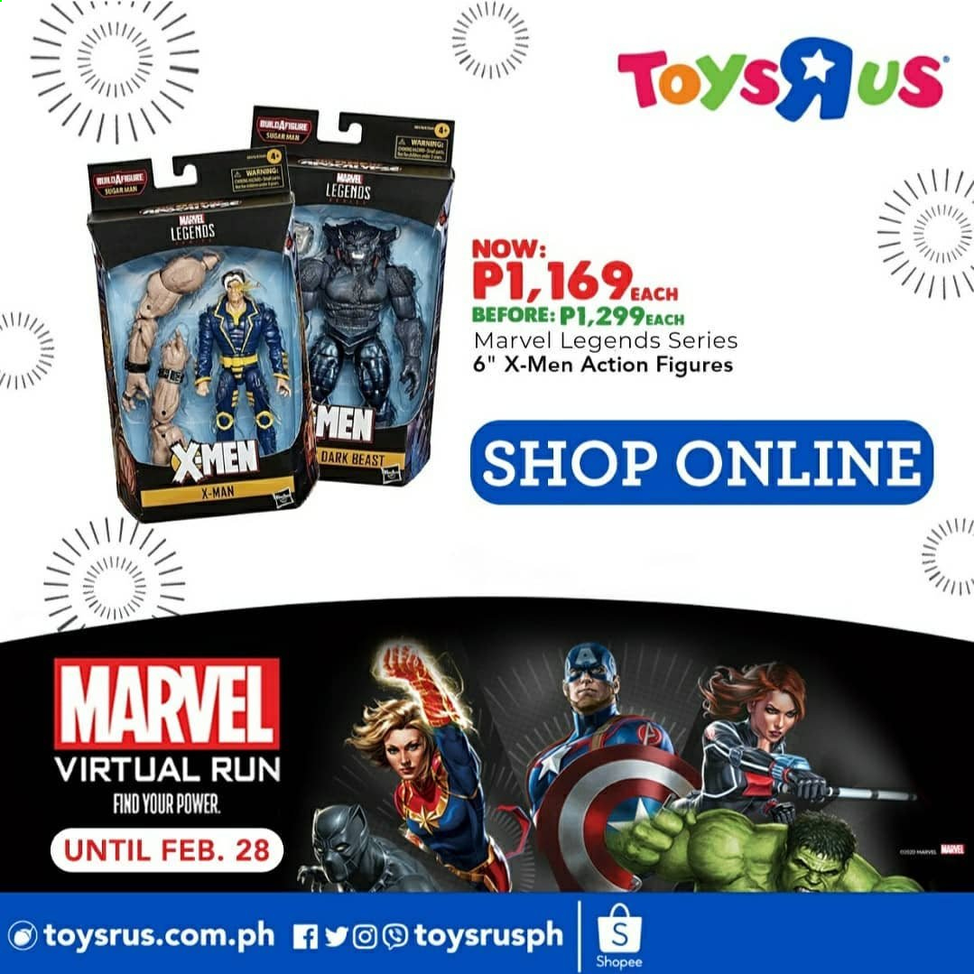 "Toys""R""Us offer  - 20.2.2021 - 28.2.2021 - Sales products - Marvel. Page 7."