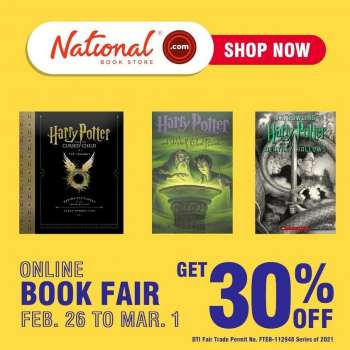 National Book Store promo