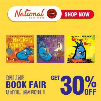 National Book Store offer  - 26.2.2021 - 1.3.2021.