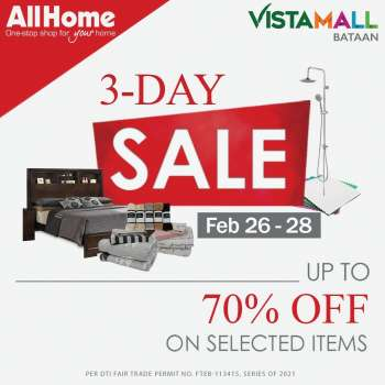 AllHome offer  - 26.2.2021 - 28.2.2021.