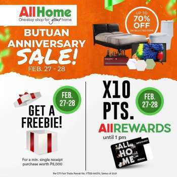 AllHome offer  - 27.2.2021 - 28.2.2021.