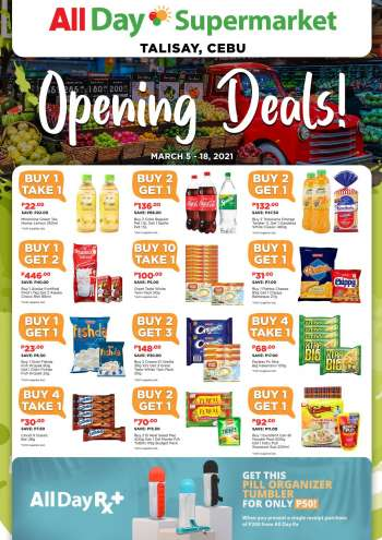 AllDay Supermarket offer  - 5.3.2021 - 18.3.2021.