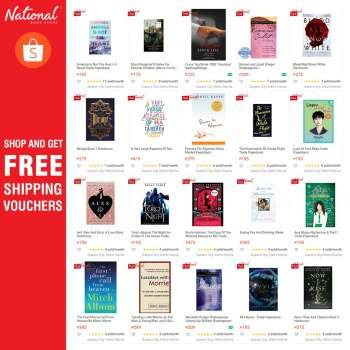 National Book Store offer  - 5.3.2021 - 11.3.2021.