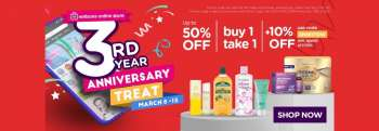 Watsons offer  - 8.3.2021 - 15.3.2021.