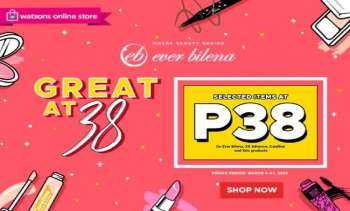 Watsons offer  - 15.3.2021 - 21.3.2021.