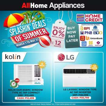 AllHome offer  - 1.3.2021 - 31.5.2021.