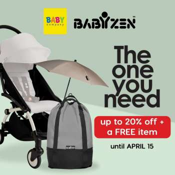 Baby Company offer  - 17.3.2021 - 15.4.2021.