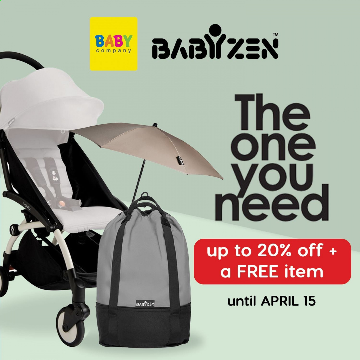 Baby Company offer  - 17.3.2021 - 15.4.2021. Page 1.