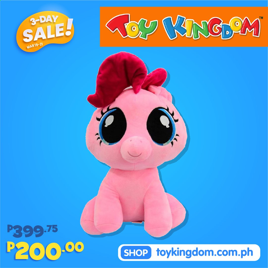 Toy Kingdom offer  - 19.3.2021 - 21.3.2021. Page 1.