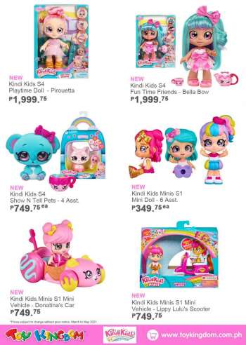 Toy Kingdom offer .