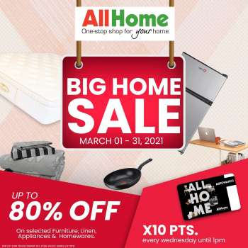 AllHome offer  - 1.3.2021 - 31.3.2021.