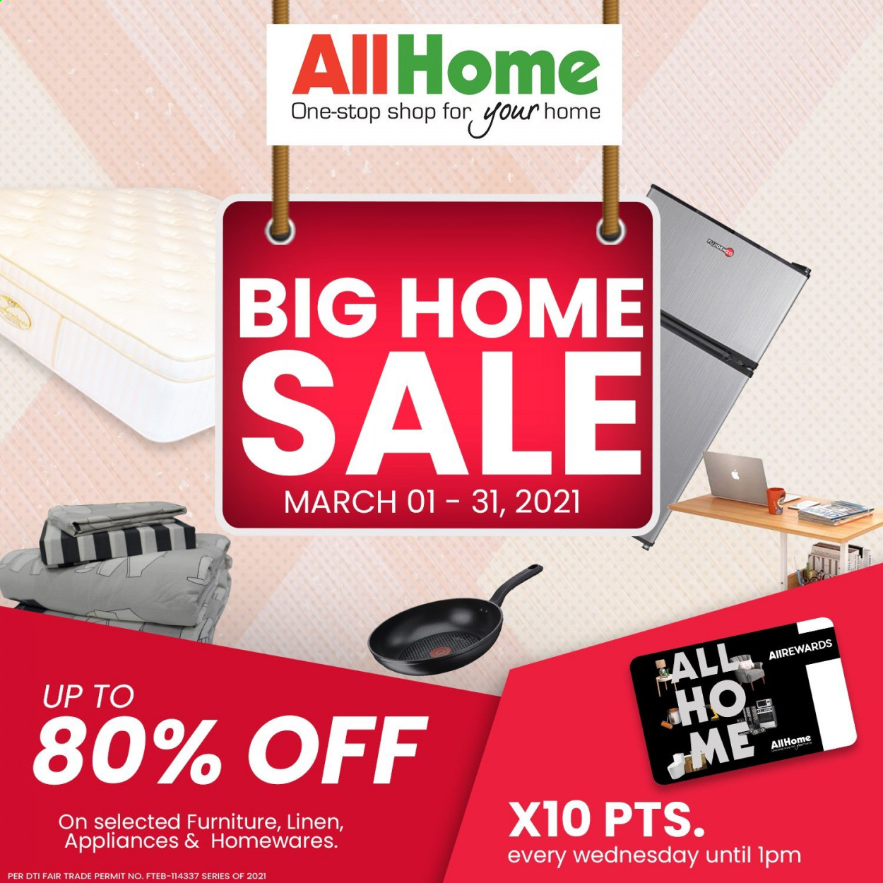 AllHome offer  - 1.3.2021 - 31.3.2021. Page 1.