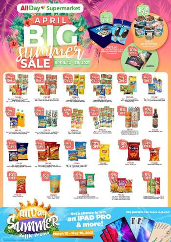 AllDay Supermarket offer  - 12.4.2021 - 30.4.2021.