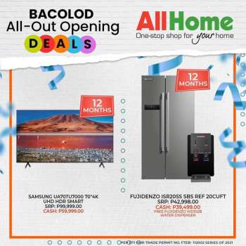 AllHome offer  - 18.4.2021 - 17.5.2021.