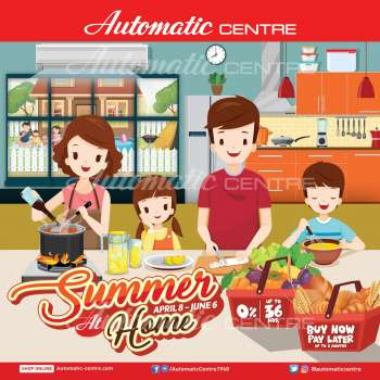 Automatic Centre offer  - 8.4.2021 - 6.6.2021.