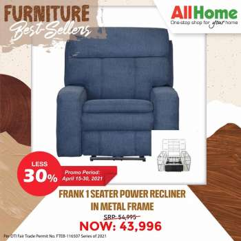 AllHome offer  - 15.4.2021 - 30.4.2021.