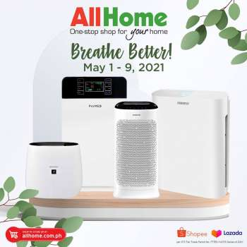 AllHome offer  - 1.5.2021 - 9.5.2021.