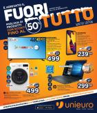 Volantino Unieuro - 3.1.2019 - 24.1.2019 - Prodotti in offerta - android, decoder, electrolux, fotocamera, pur, samsung, sistema, smart tv, mah, wifi, tv led, ultra hd, usb, lg, intel, gps, notebook, hdmi, led, lavastoviglia, lavatrice, baby.