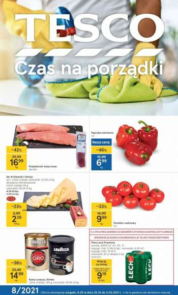 Gazetka TESCO - 25.2.2021 - 3.3.2021.