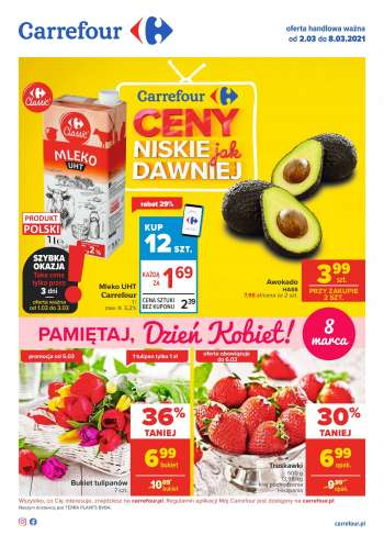 Gazetka Carrefour - 2.3.2021 - 8.3.2021.