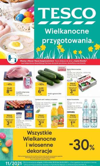 Gazetka TESCO - 18.3.2021 - 24.3.2021.
