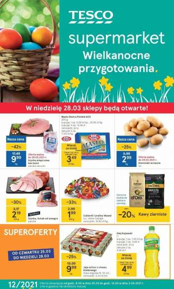 Gazetka TESCO - 25.3.2021 - 3.4.2021.