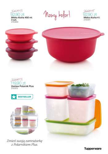Gazetka Tupperware - 3.5.2021 - 30.5.2021.