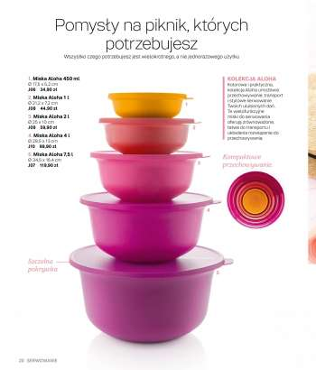 Gazetka Tupperware.