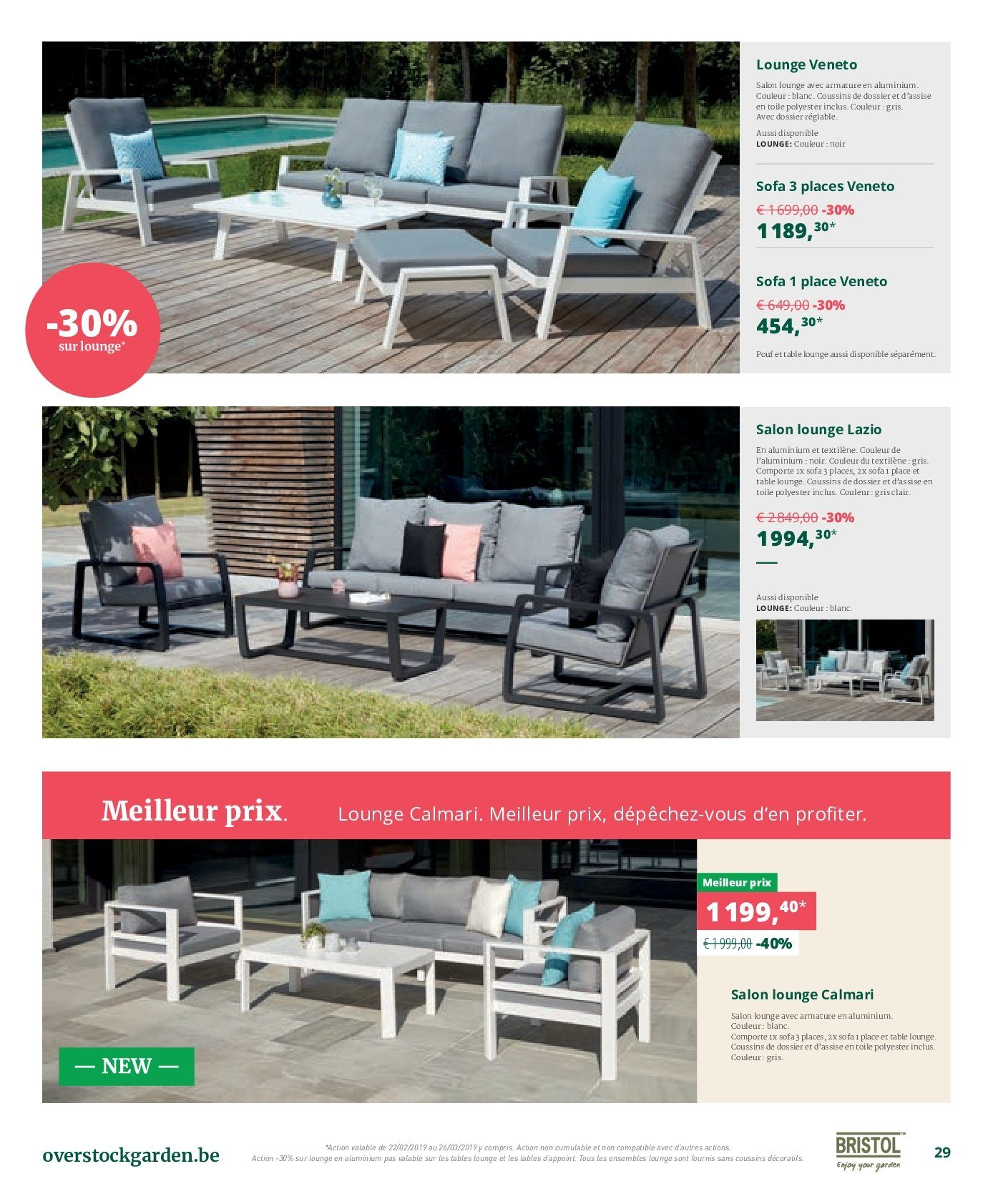 Catalogue Overstock Garden - 22.2.2019 - 26.3.2019. Page 29.