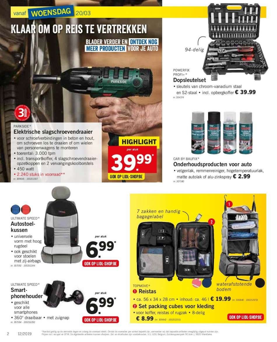 Elektrisch Kussen Lidl.Catalogue Lidl 18 3 2019 23 3 2019 Uw Folder Be
