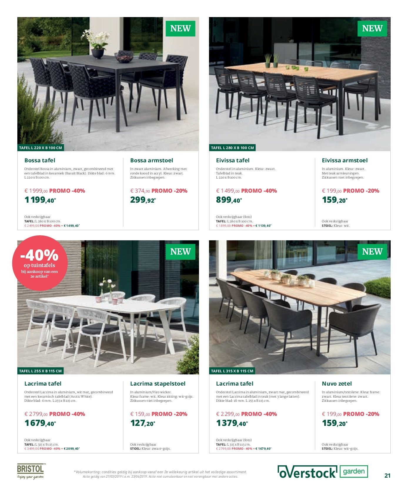 Catalogue Overstock Garden - 27.3.2019 - 23.4.2019. Page 21.
