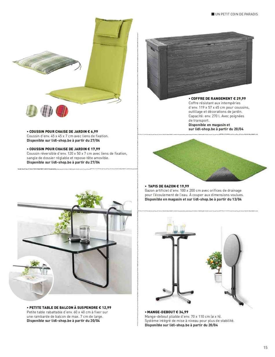 Table Pliante Balcon Lidl