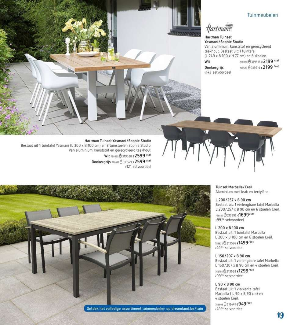 Hartman Tuinset 4 Stoelen.Dreamland Folder 28 3 2019 30 6 2019 Uw Folder Be