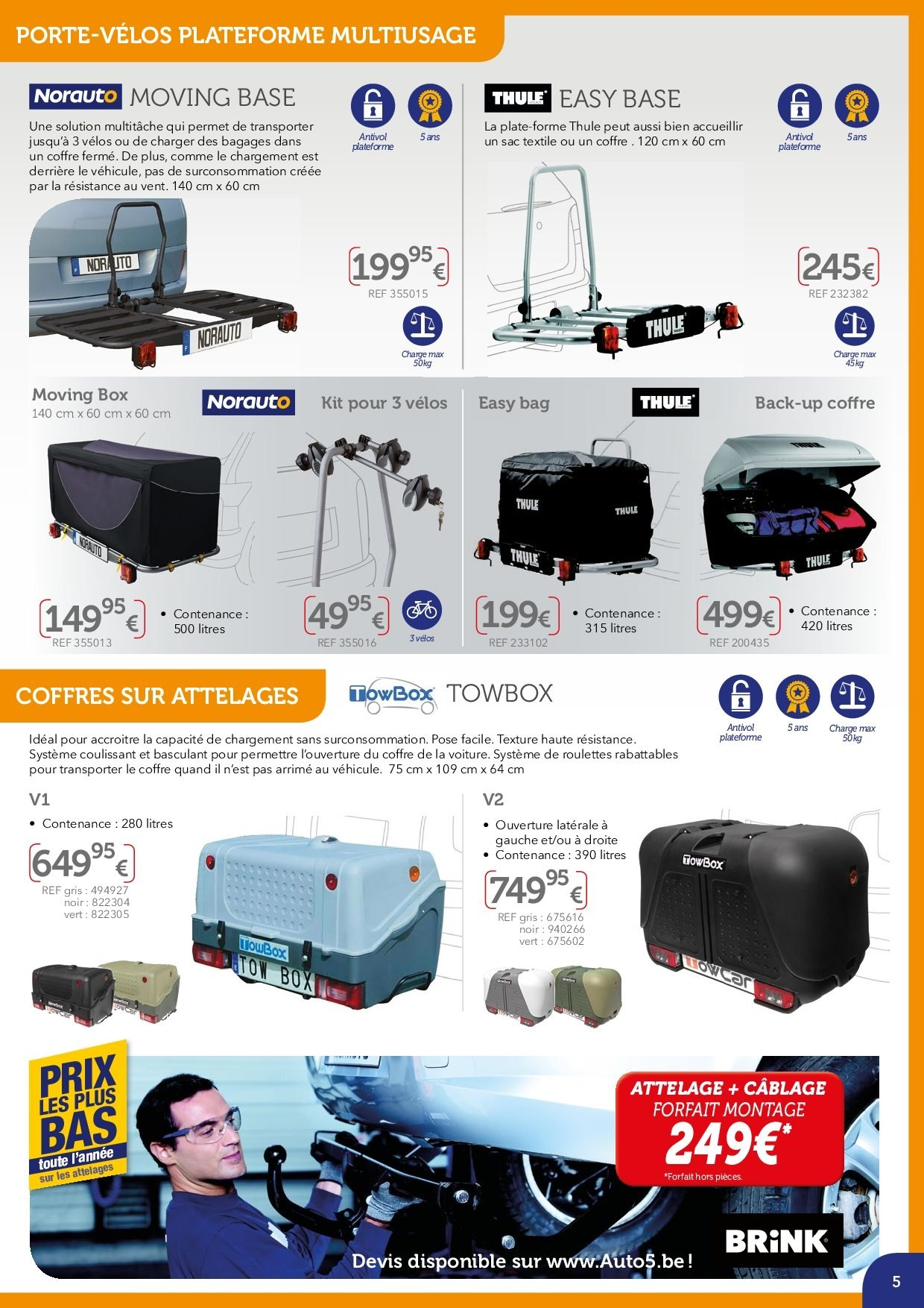Catalogue Auto5  - 2.4.2019 - 30.9.2019. Page 5.