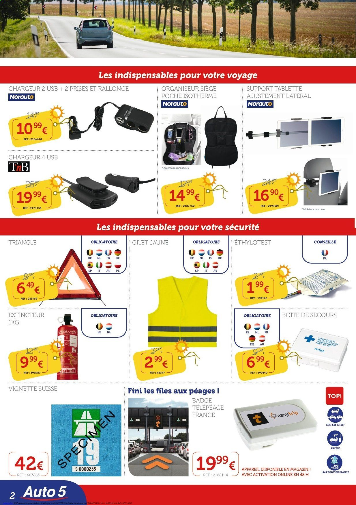 Catalogue Auto5  - 11.6.2019 - 10.7.2019. Page 2.