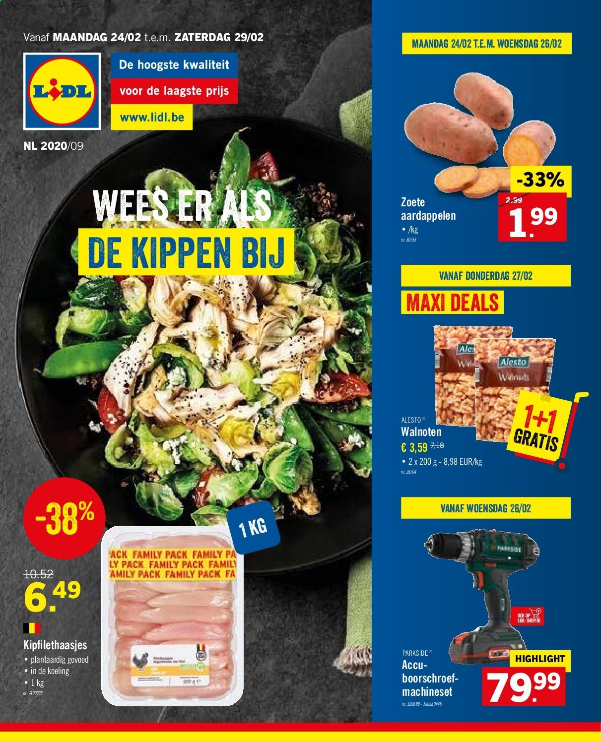 Catalogue Lidl - 24.2.2020 - 29.2.2020. Page 1.