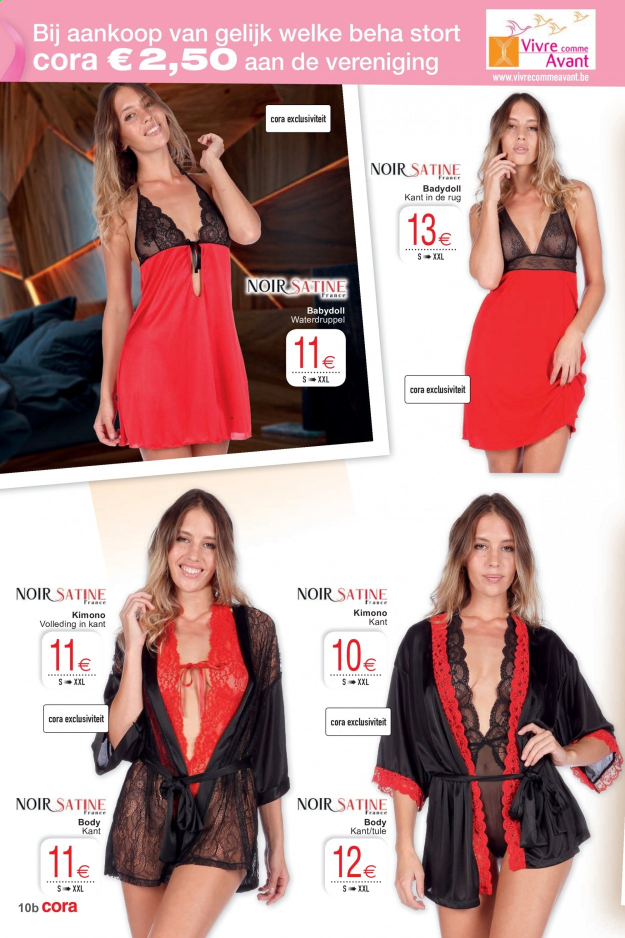 Catalogue Cora - 13.10.2020 - 26.10.2020 - Produits soldés - body. Page 10.