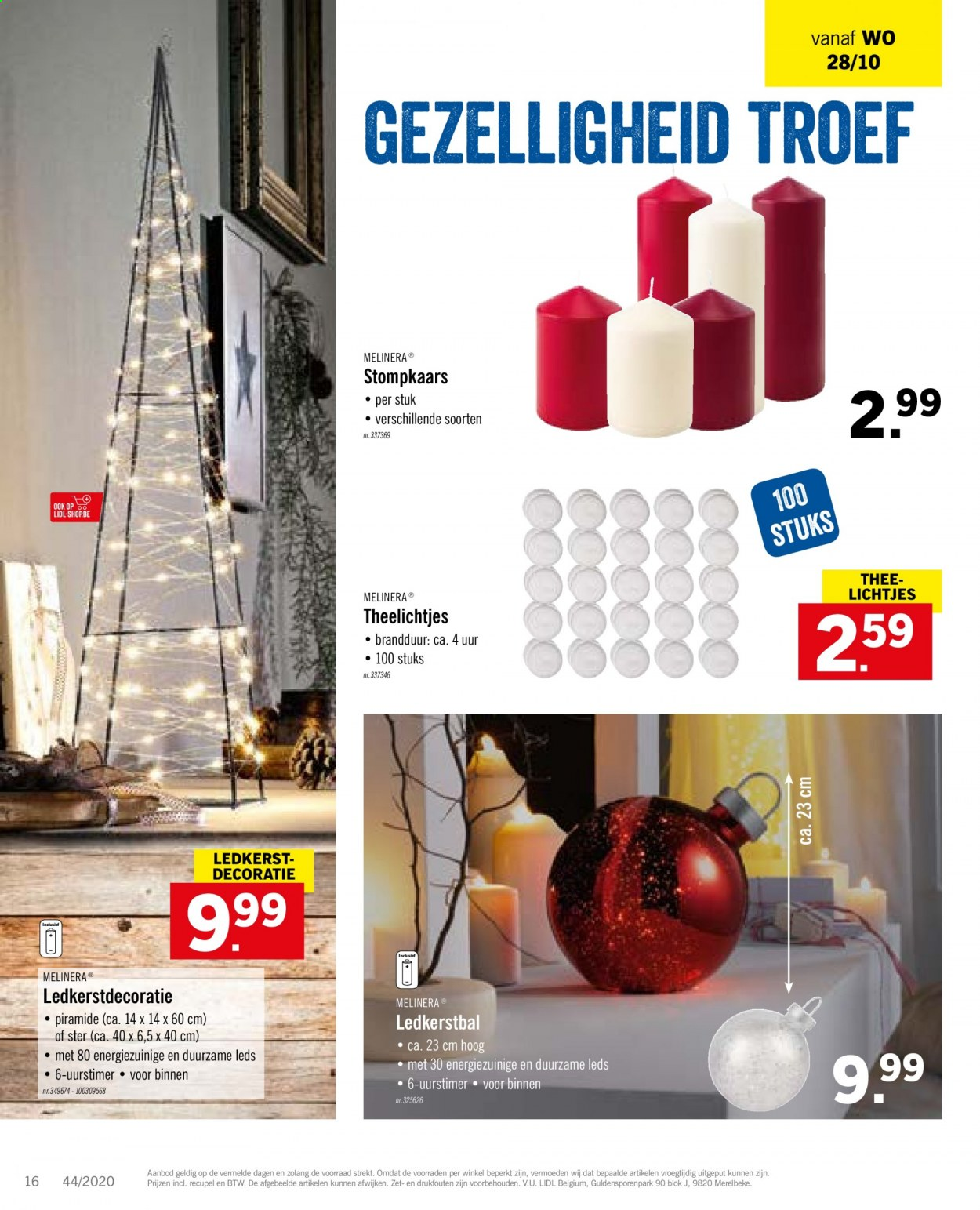 Catalogue Lidl  - 26.10.2020 - 31.10.2020. Page 16.