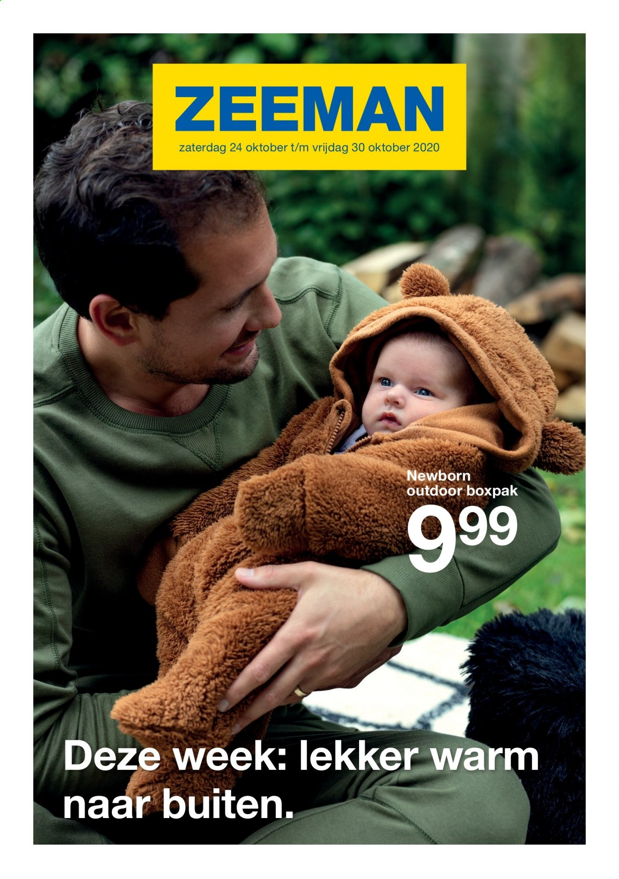 Catalogue Zeeman  - 24.10.2020 - 30.10.2020. Page 1.