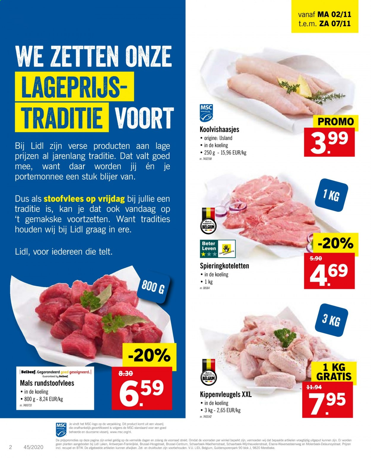 Catalogue Lidl  - 2.11.2020 - 7.11.2020. Page 2.