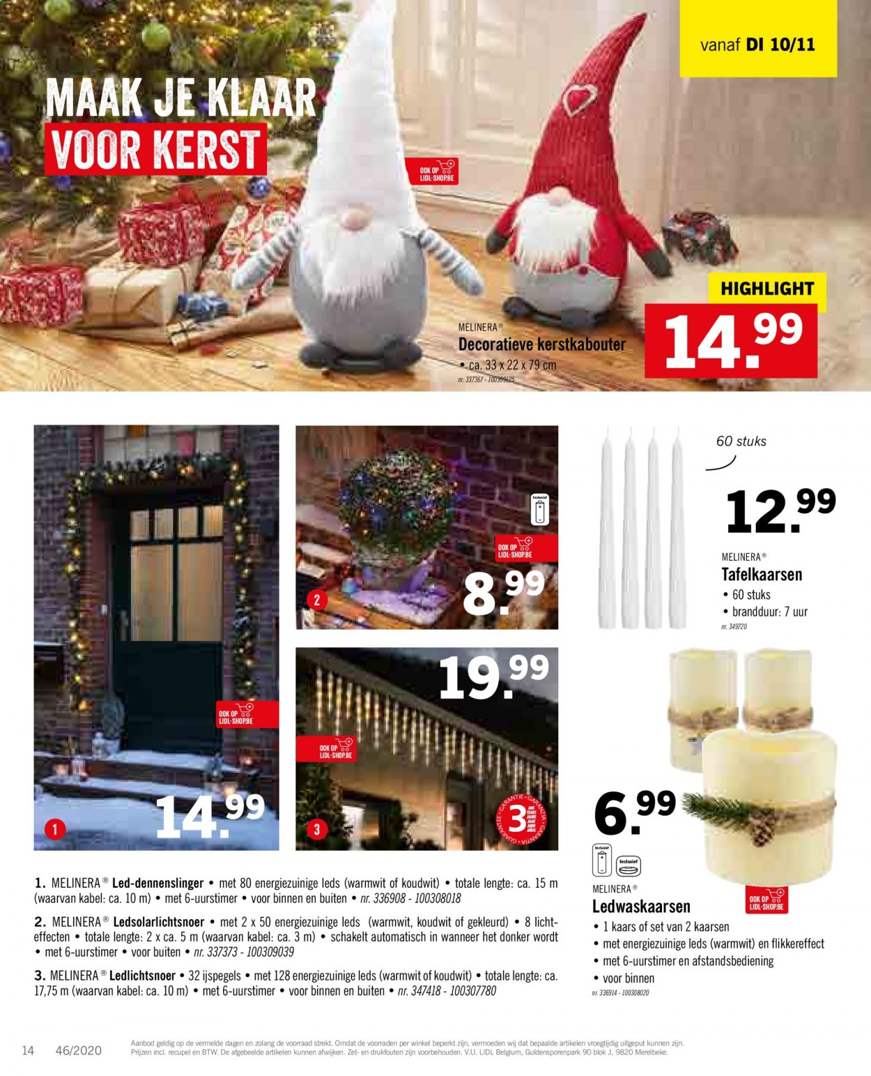 Catalogue Lidl  - 9.11.2020 - 14.11.2020. Page 16.