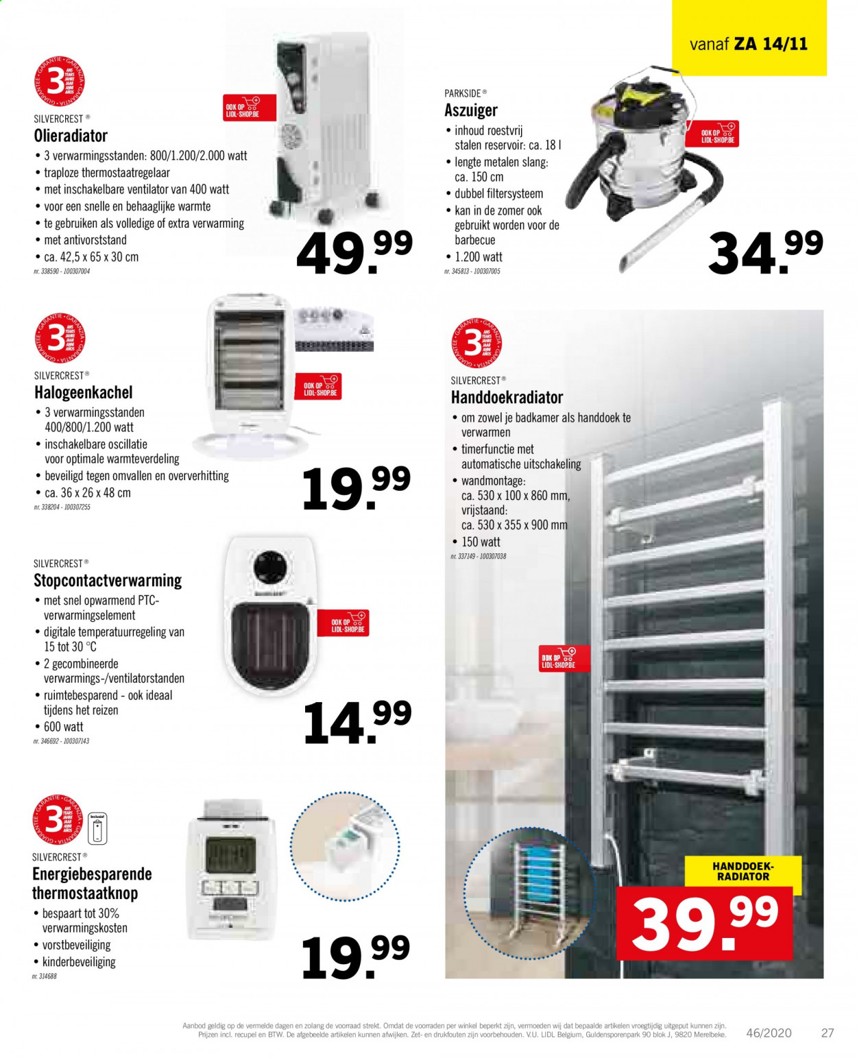 Catalogue Lidl - 9.11.2020 - 14.11.2020 - Produits soldés - barbecue, silvercrest. Page 29.