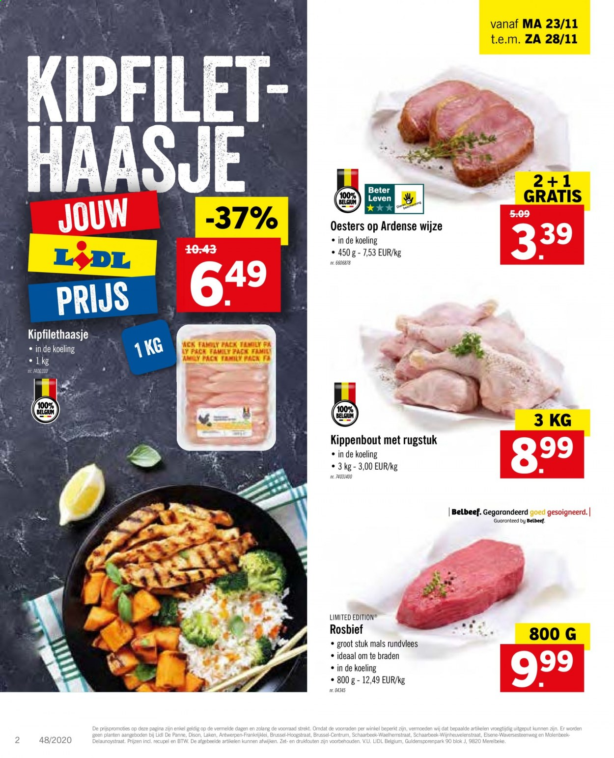 Catalogue Lidl  - 23.11.2020 - 28.11.2020. Page 2.