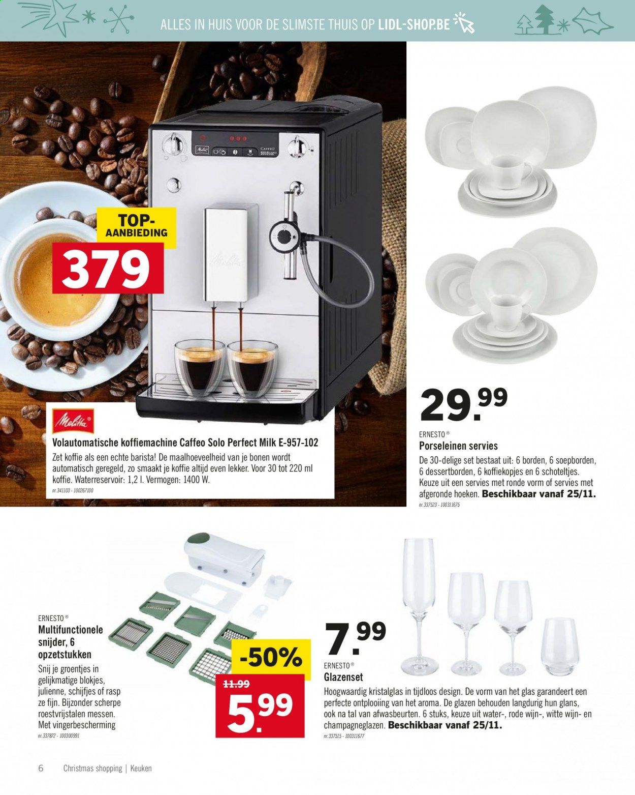 Catalogue Lidl . Page 6.