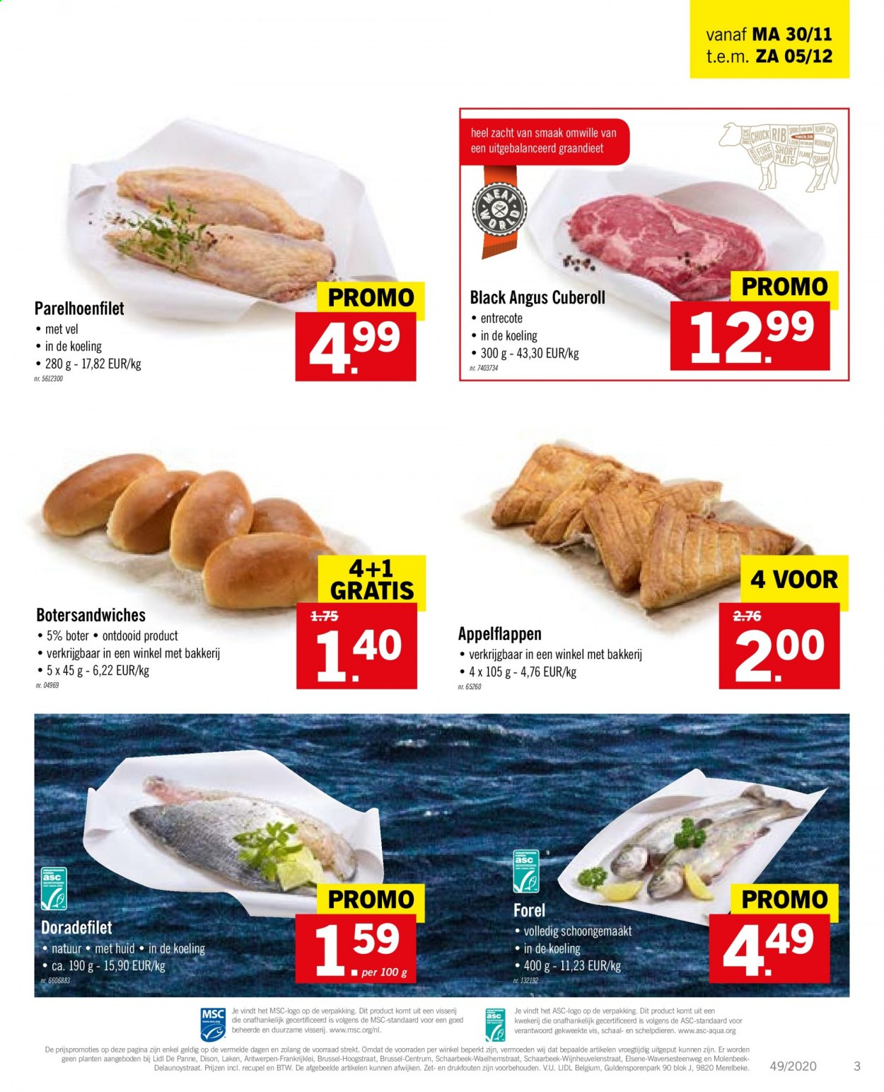 Catalogue Lidl  - 30.11.2020 - 5.12.2020. Page 3.
