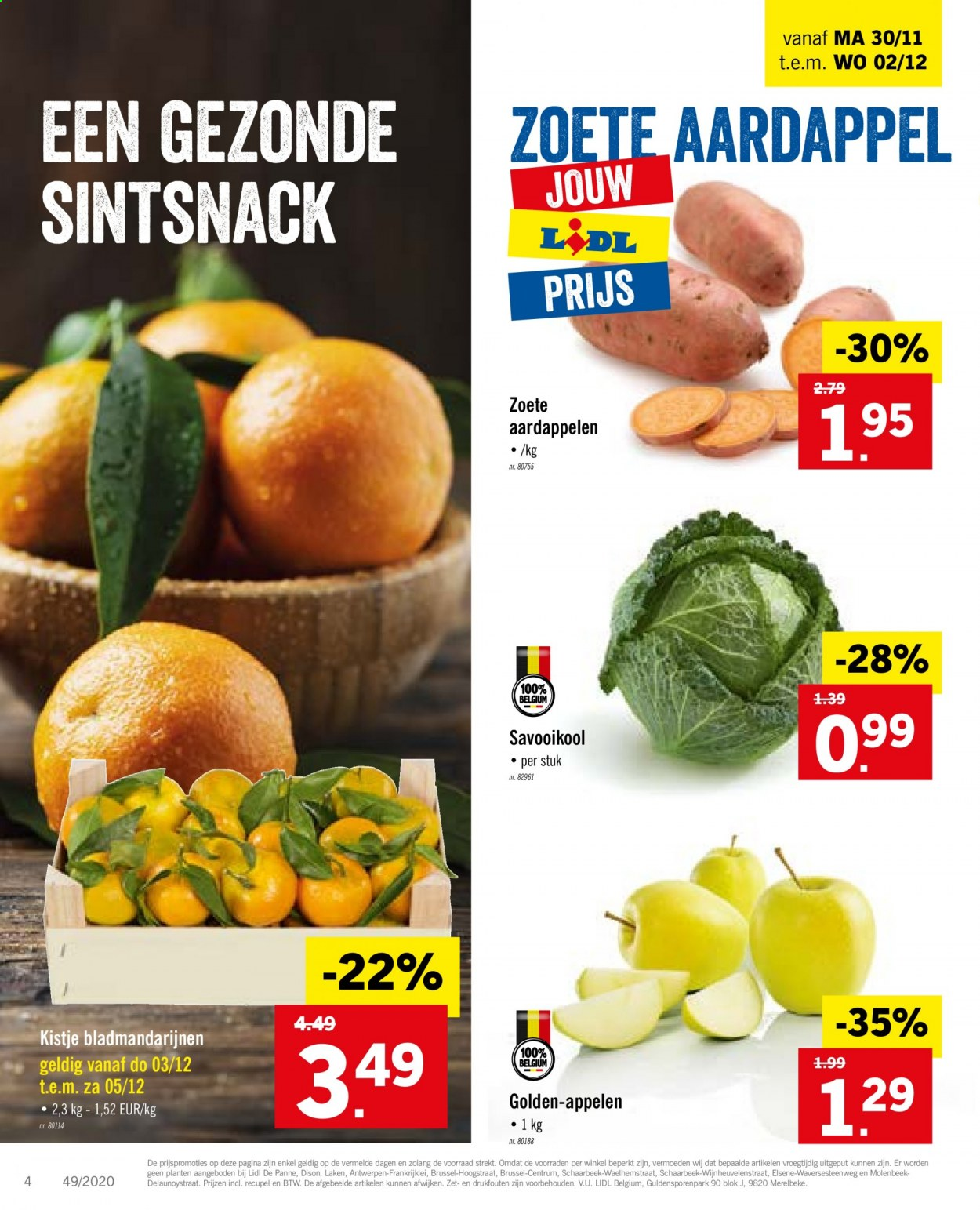 Catalogue Lidl  - 30.11.2020 - 5.12.2020. Page 4.
