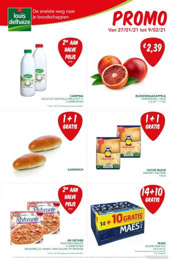 Catalogue Louis Delhaize - 27.1.2021 - 9.2.2021.