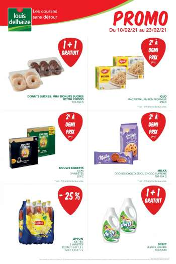 Catalogue Louis Delhaize - 10.2.2021 - 23.2.2021.