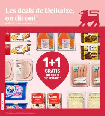 Catalogue Delhaize - 18.2.2021 - 24.2.2021.